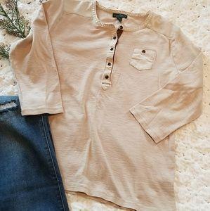 Eddie Bauer Tan Shirt Size XL